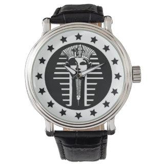 Die städtische Engel-Geldbeschaffer Pharao-Uhr Uhr