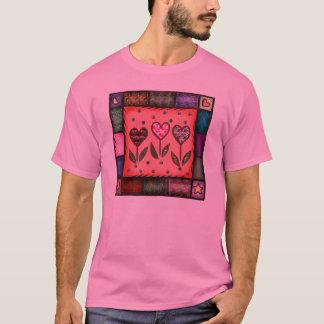 Die Steppdecken-T - Shirt des Valentines