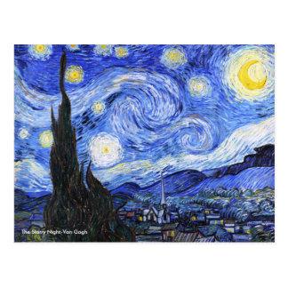 Die sternenklare Nacht durch Vincent van Gogh Postkarte