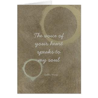 Die Stimme Ihres Herzens - Kreise Karte