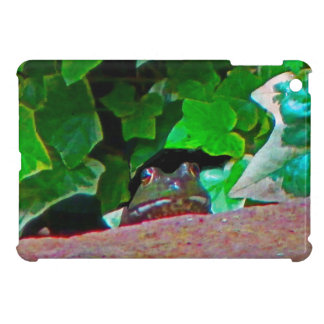 Die Stirn runzelnder Frosch Hülle Für iPad Mini