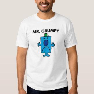 Die Stirn runzelndes Gesicht Herr-Grumpy | Tshirts