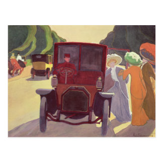 Die Straße mit Acacias, 1908 Postkarte