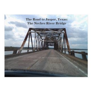 Die Straße zum Jaspis, Texas-Postkarte Postkarte