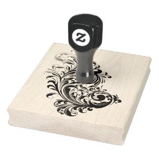 Die Strudel-GummiBriefmarke 4X5 Gummistempel