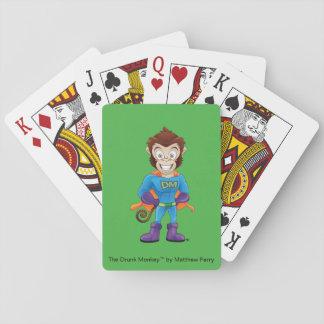 Die superhero-betrunkener Affe-Spielkarten Spielkarten