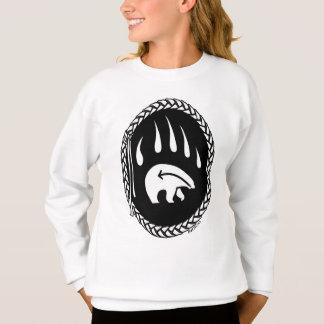 Die Sweatshirt-Bärentatze-Shirt des Stammes- Sweatshirt
