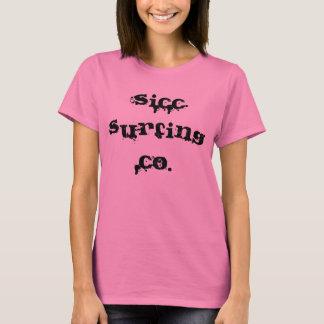 Die T bequemer Frauen Sicc Surfing Company T-Shirt