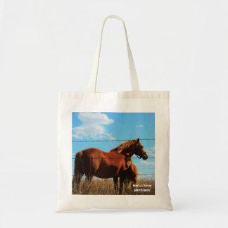 Die Tasche des Pferds