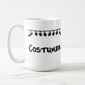 Die Tasse des Kostüms