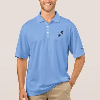 Die Tatze der Männer druckt Nike Dri-SITZ Polo Shirt