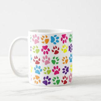 Die Tatze des lustiger Hundes Kaffeetasse