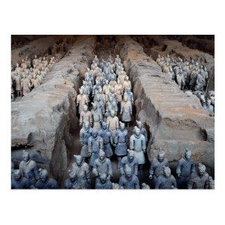 Die Terrakotta-Krieger, Xi'an, China Postkarte