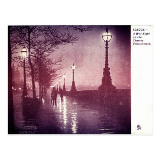 Die Themse London Postkarte