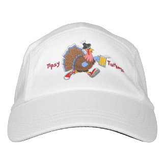 Die Tipsy Türkei (Bier) Headsweats Kappe