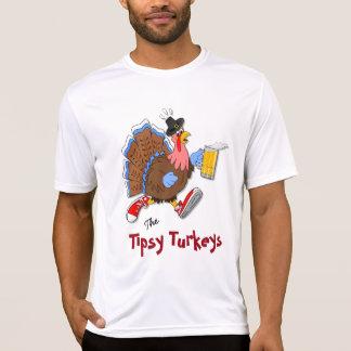 Die Tipsy Türkei (Bier) - Sport Tek SS T-Shirt