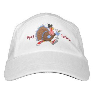 Die Tipsy Türkei (Martini) Headsweats Kappe