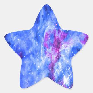 Die Träume des Liebhabers Stern-Aufkleber