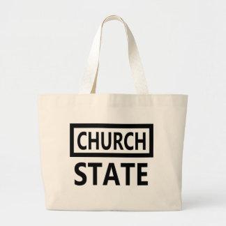 Die Trennung der Kirche und des Staat - 1. Jumbo Stoffbeutel