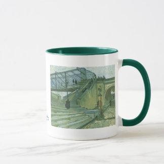 Die Trinquetaille Brücke durch Vincent van Gogh Tasse