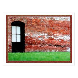 Die Tür Postkarten