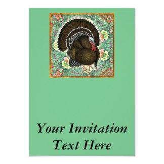 Die Türkei auf den Grüntönen 12,7 X 17,8 Cm Einladungskarte