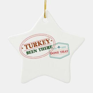 Die Türkei dort getan dem Keramik Stern-Ornament