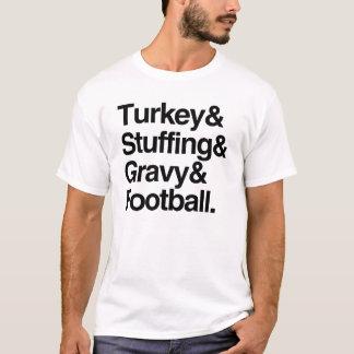Die Türkei u. Anfüllen u. Soße u. T-Shirt
