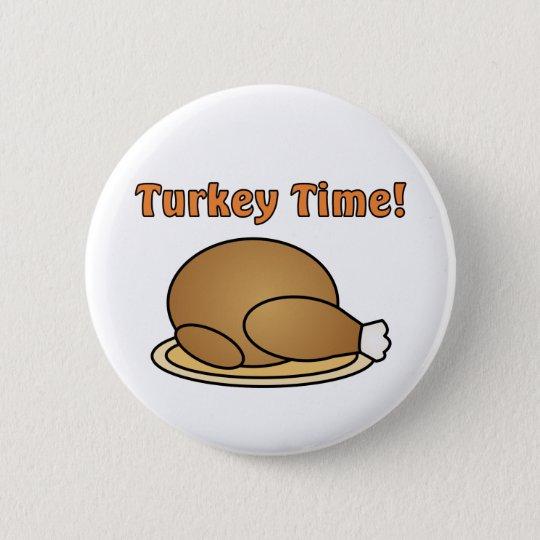 Die Türkei-Zeit-Erntedank-Knopf Runder Button 5,7 Cm