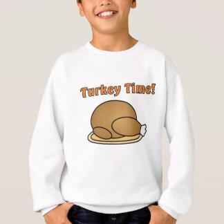 Die Türkei-Zeit-Erntedank-Sweatshirt Sweatshirt