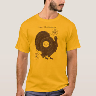 """Die Türkei-Ziel-""""glücklicher Erntedank-"""" helle T-Shirt"""