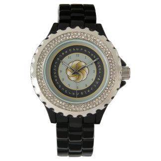 Die Uhr der Frauen des armenischen Alphabetes und