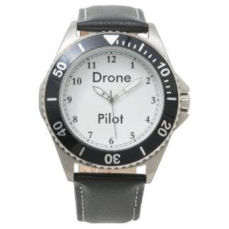 Die Uhr des Drohne-Pilot