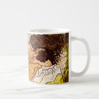 Die Umarmung, 1917 Kaffeetasse