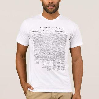 Die Unabhängigkeitserklärung T-Shirt