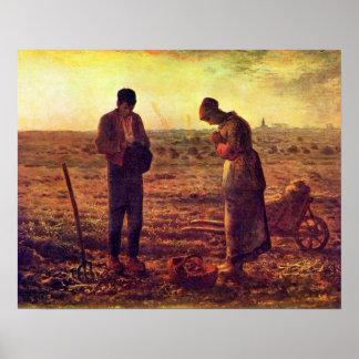 Die Unbefleckte Empfängnis Angelus-Jungfrau-Marys Poster