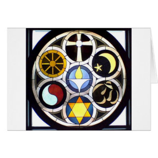 Die unitarische universalistische Kirche Rockford, Grußkarte