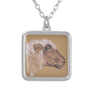 Die unwirschen Schafe Versilberte Kette