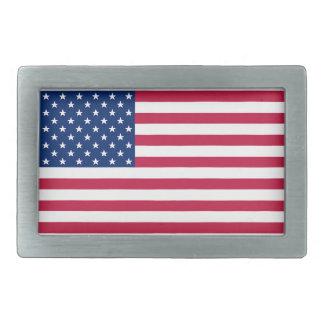 Die USA-Flagge-patriotische Gürtelschnalle der