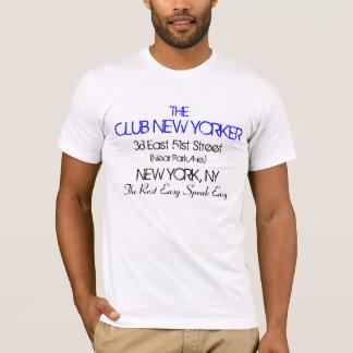 Die Verein-New Yorker sprechen das einfache T-Shirt