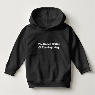 Die Vereinigten Staaten des Erntedanks Hoodie