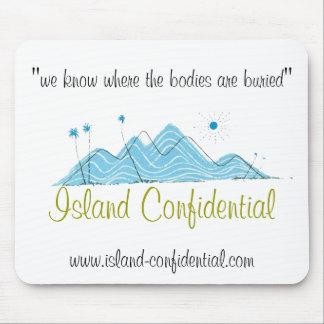 Die vertrauliche Insel hat die Geschichte Mousepad