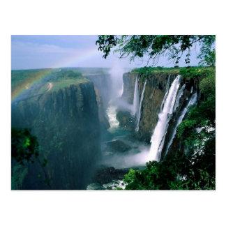 die Victoriafälle, Simbabwe Postkarte