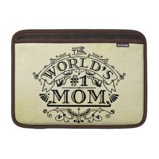 Die Vintage Mamma der Welt der Zahl-eine blühen MacBook Air Sleeve