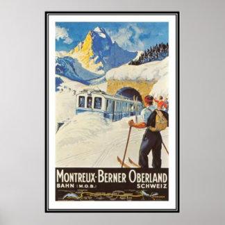 Die Vintage Schweiz - Plakatdrucke