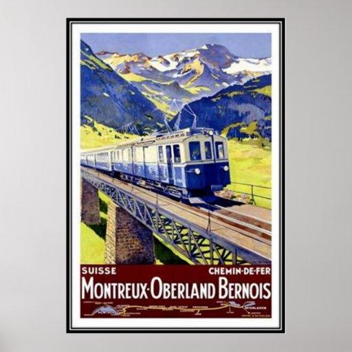 Die Vintage Schweiz - Posterdrucke