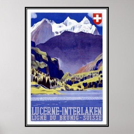 Die Vintage Schweiz - Posterdruck