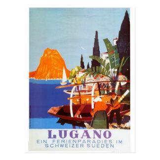 Die Vintage Schweiz - Postkarte