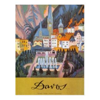 Die Vintage Schweiz - Postkarten