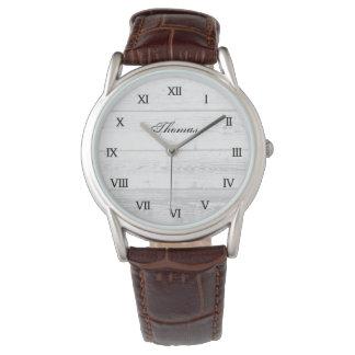 Die Vintage Uhr eine der Männer einer netten
